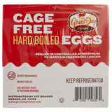 Great Day Farms Cage Free Hard-Boiled Eggs, Peeled (2 eggs per pk., 12 pks.)