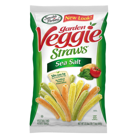 Sensible Portions Sea Salt Garden Veggie Straws (23.5 oz.)