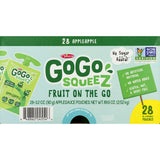 GoGo SqueeZ Applesauce, Apple Apple (3.2 oz., 28 ct.)