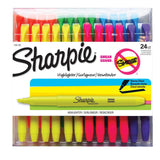 Sharpie Accent, Highlighters, Assorted Colors, 24 Pack