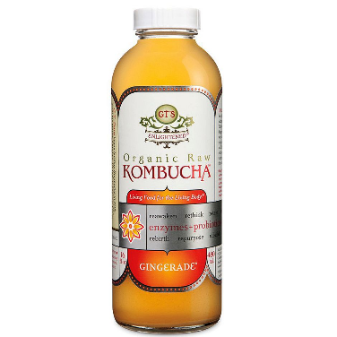 GT'S Organic Raw Kombucha Gingerade (16 oz. bottle, 6 pk.)