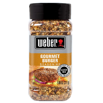 Weber® Gourmet Burger Seasoning - 8 oz.