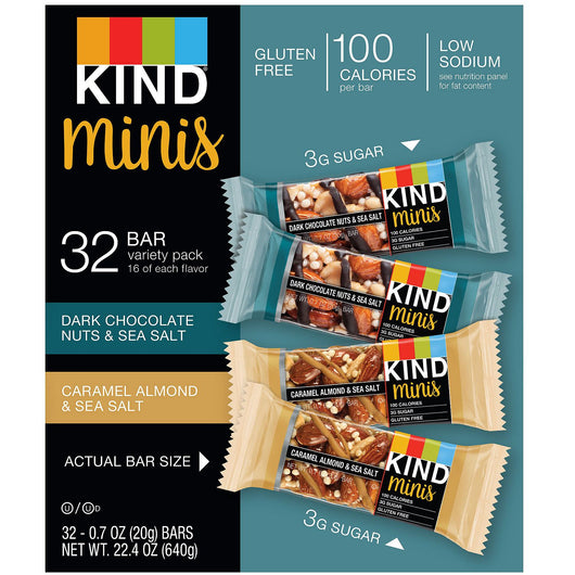 KIND Minis Variety Pack (32 ct.)