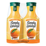 Simply Orange Juice Pulp Free (52 fl. oz., 2 pk.)