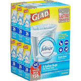 Glad Small Garbage Bags (4 gallon, 156 ct.)