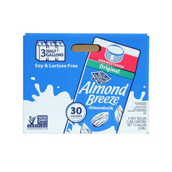 Almond Breeze Almond Milk, Original Unsweetened (64 oz., 3 pk.)