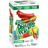 Strawberry and Tropical Tie-Dye Fruit Roll-Ups (72 ct.)