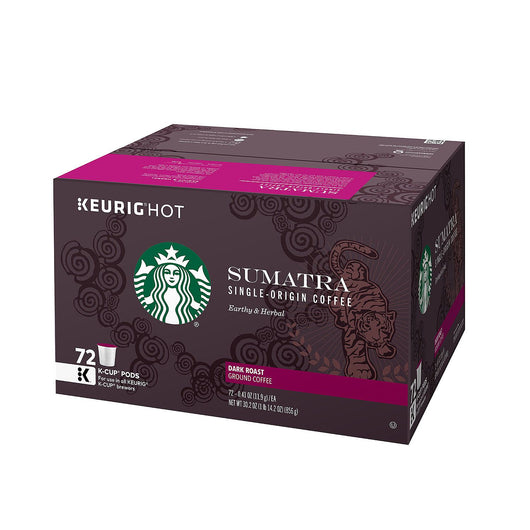 Starbucks Sumatra Coffee (72 K-Cups)