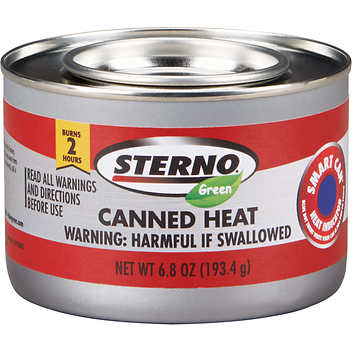 Sterno Green 2-Hour Ethanol Gel Chafing Fuel, 24 ct