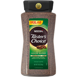NESCAFE TASTER'S CHOICE Decaffeinated Instant Coffee, House Blend (14 oz.)