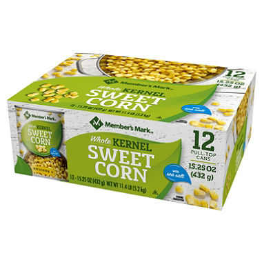 Whole Kernel Corn (15.25 oz., 12 pk.)