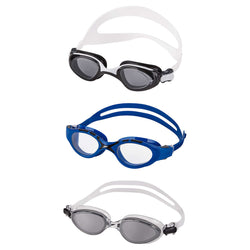 Speedo Adult Unisex  Swim Goggles 3-pack,Ages 14 and up