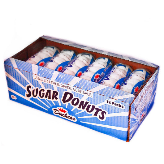 Duchess Sugar Donuts (3 oz. packs, 12 ct.)