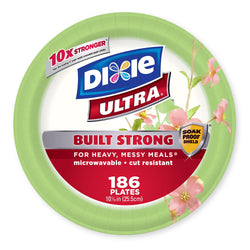 Dixie Ultra Paper Plates, Heavyweight, 10 1/16