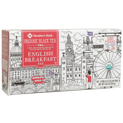 Organic English Breakfast Tea (100 ct.)