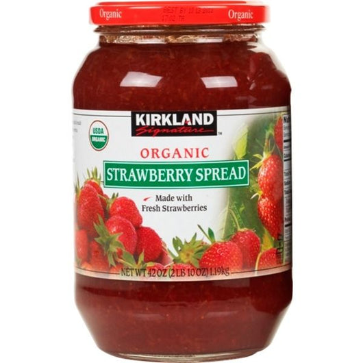 Kirkland Signature Organic Strawberry Spread