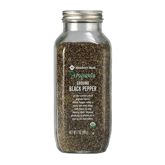 Organic Ground Black Pepper (7 oz.)