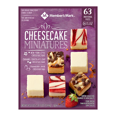 Cheesecake Miniatures (63 ct.)
