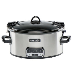 Crock-Pot 6-Quart Cook and Carry Slow Cooker with Little Dipper Warmer