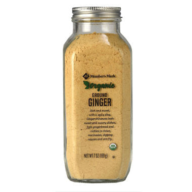 Organic Ground Ginger (7.5 oz.)