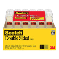 Scotch Double Sided Tape, 1/2