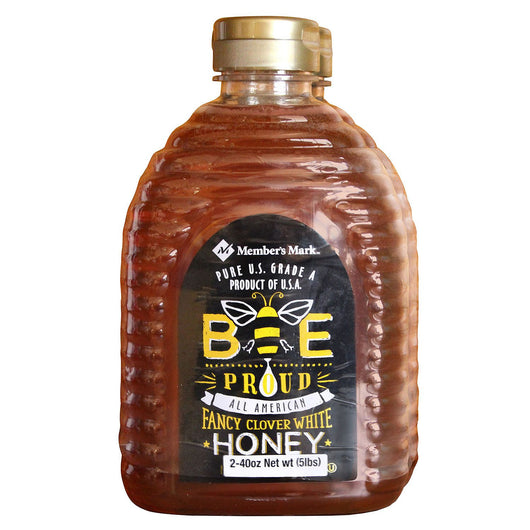 Bee Proud All-American Fancy Clover White Honey (2 ct., 40 oz.)