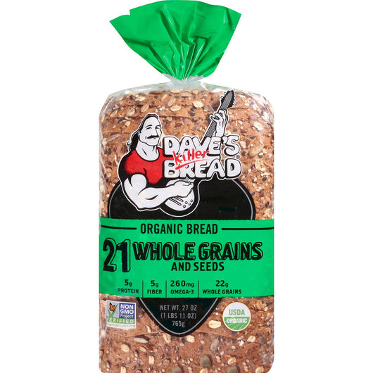 Dave's Killer Bread 21 Whole Grains And Seeds Organic Bread (27 oz.)