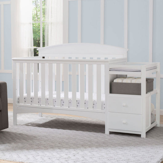 Delta Children Abby Convertible Crib 'N' Changer (Choose Your Color) (7-14 day delivery)