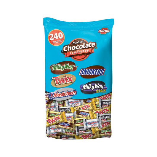 MARS Mixed Chocolate Minis (240 ct.)