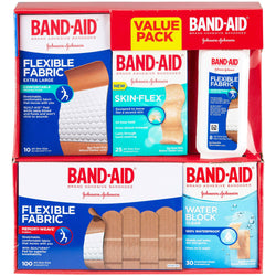 Band-Aid Brand Active Lifestyles Variety Pack Adhesive Bandages (173 ct.)