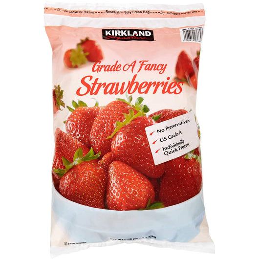 Kirkland Signature Frozen Strawberries, (6 lbs)