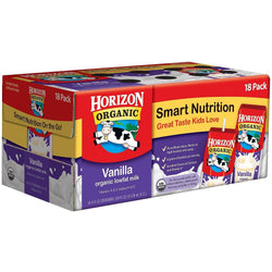 Horizon Vanilla Organic Milk - 8 oz. boxes (18 pk.)