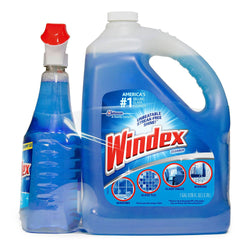 Windex Original with Ammonia-D (128 oz. refill + 32 oz. trigger)
