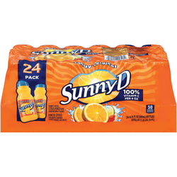 SunnyD® Tangy Original Orange Flavored Citrus Punch - 24/6.75 oz.
