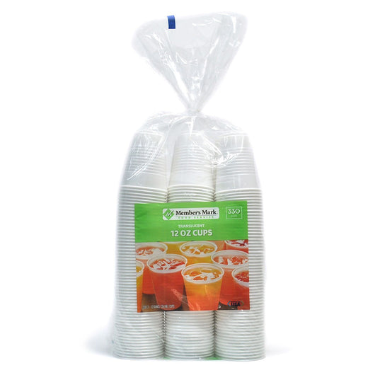 Plastic Cups (12oz., 330ct.)