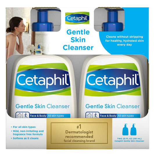 Cetaphil Gentle Skin Cleanser (20 oz., 2 pk.)