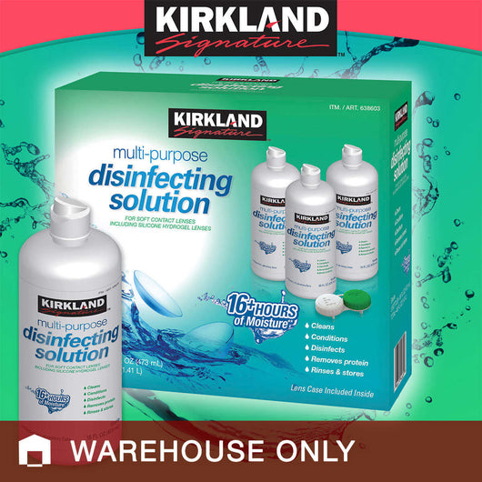 Kirkland Signature Multi-Purpose Disinfecting Solution, 48 Ounces
