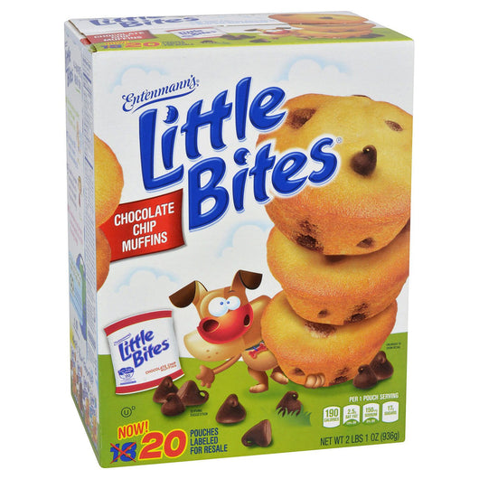 Entenmann's Little Bites Chocolate Chip Muffins (20 ct.)