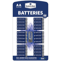 Alkaline AA Batteries (48 Pk.)