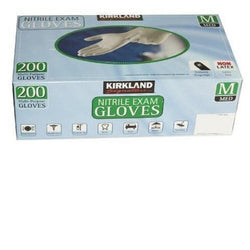 Kirkland Signature™ Nitrile Exam Gloves Multi-Purpose Latex Free ,200ct x 2
