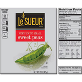 Le Sueur Very Young Small Sweet Peas (15 oz. can., 8 ct.)