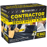 Commercial Contractor Clean-Up Bags (42 gal., 42 ct.)