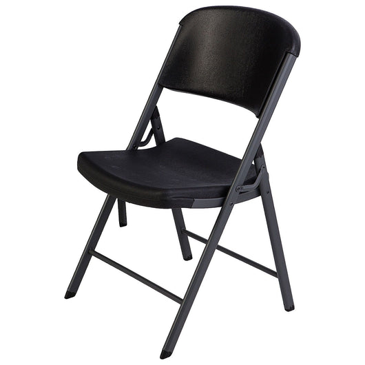 Amazing Lifetime Commercial Grade Contoured Folding Chair White Pdpeps Interior Chair Design Pdpepsorg
