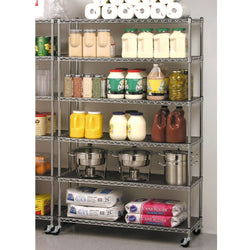 6-Level Commercial Storage Shelving