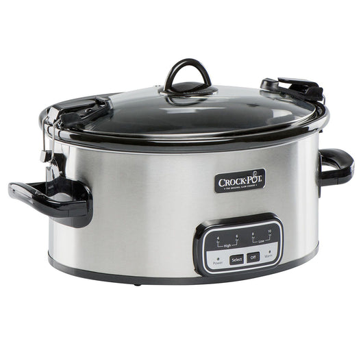 Crock Pot 6 Quart Cook And Carry Slow Cooker With Little