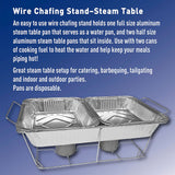 Aluminum Steam Table Pans, Half Size (36 ct.)