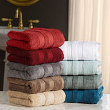"Hotel Luxury Reserve Collection 100% Cotton Luxury Hand Towel 16"" x 30"" (Assorted Colors)"