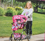 Lissi Doll Double Stroller