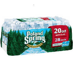 Poland Spring 100% Natural Spring Water (20 oz. bottles, 28 pk.)