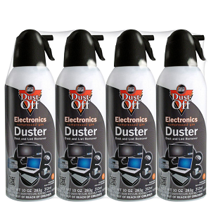 Falcon Dust-Off Compressed Gas Duster (10oz., 4 Pack)